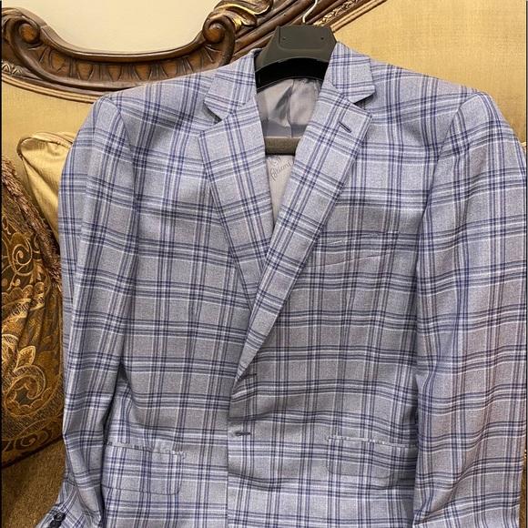 Brioni new silk / wool blend jacket